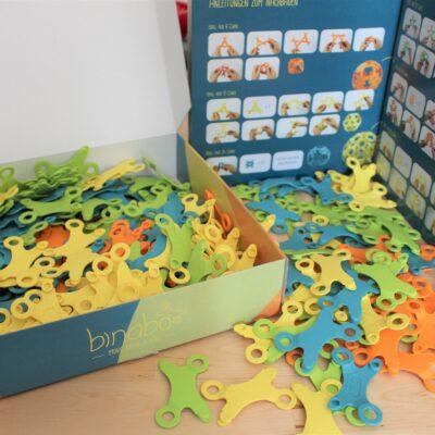 Binabo - wie Lego, nur anders. Schenken Sie kein Spielzeug. Schenken Sie Kreativität in 240 Teilen!