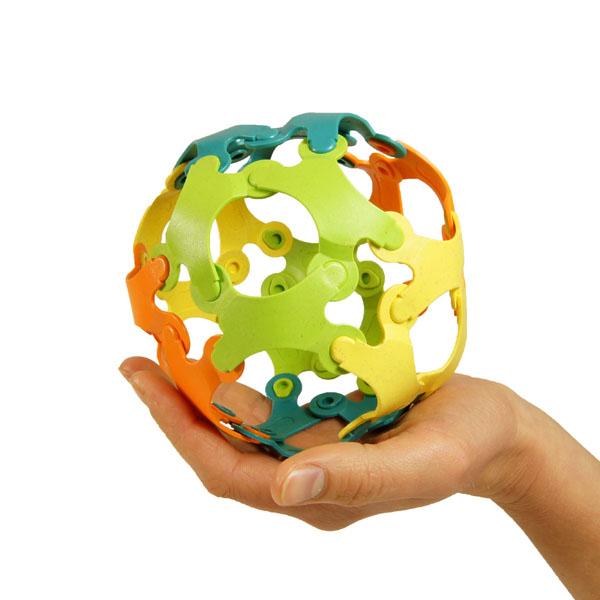 Binabo – mehr als ein Ball und so wie Lego – nur anders. Testen Sie die Kreativität in 24 Teilen.