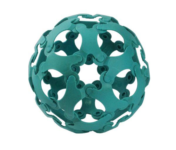 Binabo – mehr als ein Ball und so wie Lego – nur anders. Testen Sie die Kreativität in 36 blauen Teilen.