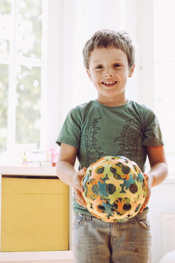 Ein Ball ist auch nicht ein Ball bei Binabo – dieser kann aus verschiedenen Konstruktionen bestehen.
