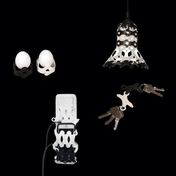 Sie brauchen eine Handyhalterung?? Einen Lampenschirm für zu Hause? Geht nicht gibt es nicht…