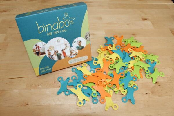 Sie suchen ein kreatives und nachhaltiges Spielzeugt? Sie sind bereits Binabo-infiziert? Dann haben wir was…
