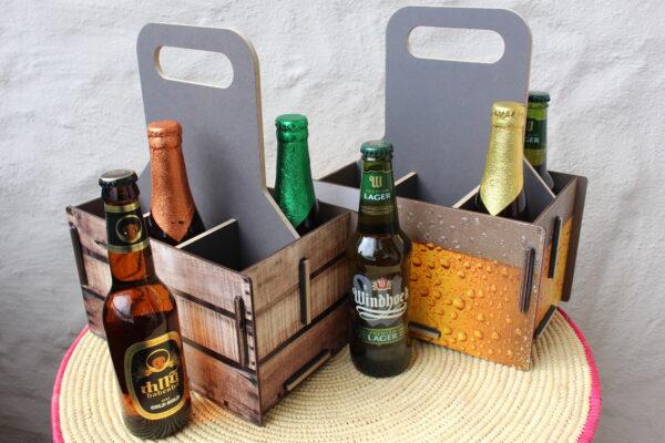 Eine Optik zwischen Bier und Wein - aber auch für nicht alkoholische Getränke geeignet...