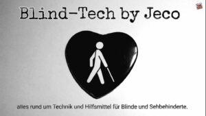 Mit unseren Spielen für Blinde und Sehbehinderte möchten wir die Bedürfnisse der Zielgruppe kennen, und sind deshalb Partner der Bloggerin Jessica Crosby und Ihrem Blind-Tech