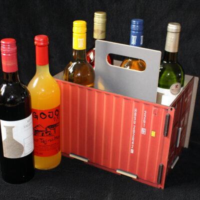 Ein Spieleabend macht durstig. Dieser Flaschenträger für Flaschen bis zu einem Liter wird der Hingucker!