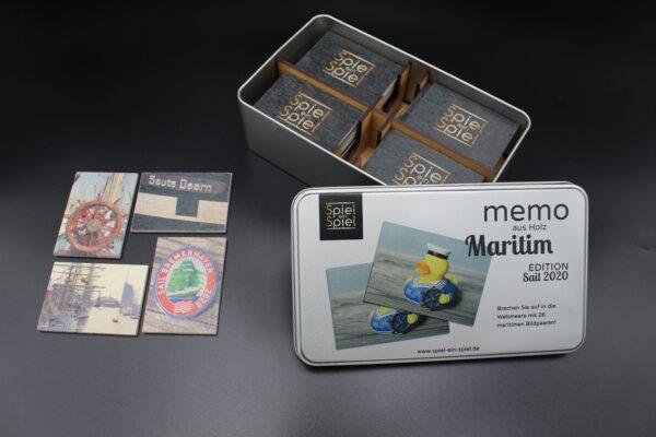 In Hamburg entstanden, maritime Motive, eine wertige Verpackung für ein besonderes Spiel – hier sind Sie richtig!